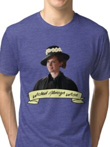 Zelena - Wicked Always Wins Tri-blend T-Shirt