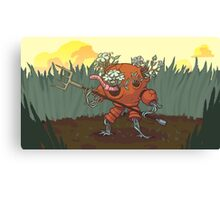 Worm Knight Canvas Print