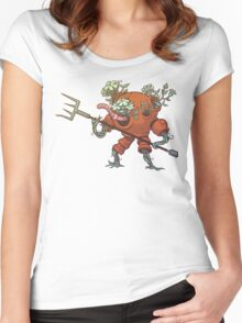 Worm Knight Women's Fitted Scoop T-Shirt