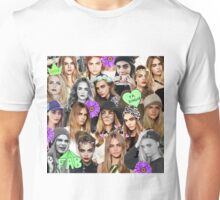 Cara Delevingne Collage Unisex T-Shirt