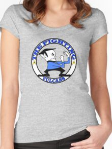 The Fighting Vulcans with logo Women's Fitted Scoop T-Shirt