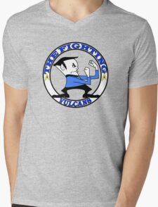 The Fighting Vulcans with logo Mens V-Neck T-Shirt