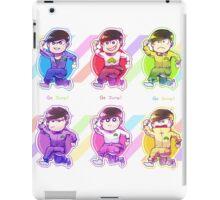 Jumpsuit matsu - Allmatsu iPad Case/Skin