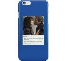 Roslin/Adama Battlestar Galactica iPhone Case/Skin