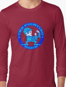 The Fighting Programs with Logo Long Sleeve T-Shirt