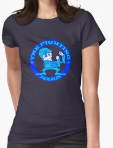 The Fighting Programs with Logo Womens Fitted T-Shirt