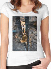 Wild cat Women's Fitted Scoop T-Shirt