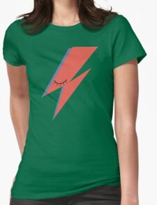 Ziggy: David Bowie Tribute Womens Fitted T-Shirt