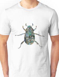 Trash Beetle (White) Unisex T-Shirt