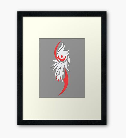 Harbinger of Disaster - Shiny Absol Framed Print