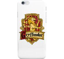 Gryffondor iPhone Case/Skin