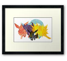 Eeveolution Framed Print