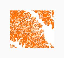 Annapolis Map - Orange Unisex T-Shirt