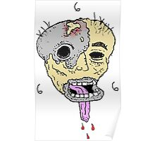 Melted Face 666 Poster