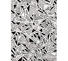 Tonal Triangles Photographic Print