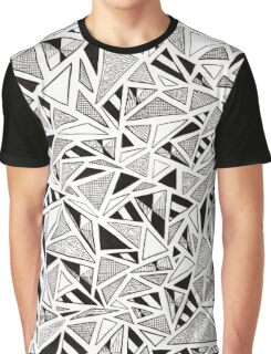 Tonal Triangles Graphic T-Shirt