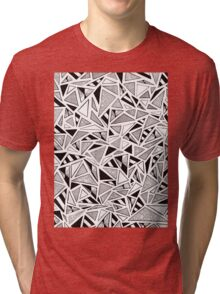 Tonal Triangles Tri-blend T-Shirt
