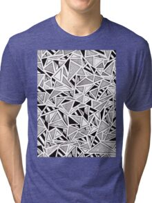 Tonal Triangles Tri-blend T-Shirt