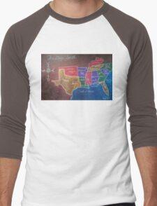 The Deep South Men's Baseball ¾ T-Shirt