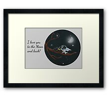 Back From the Voyage Framed Print