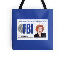 Agent Dana Scully Tote Bag