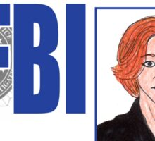 Agent Dana Scully Sticker