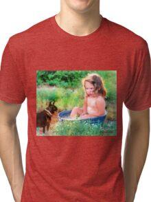I Don't Think So Tri-blend T-Shirt