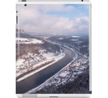 Elbe Valley with Mountain Pfaffenstein iPad Case/Skin