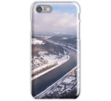 Elbe Valley with Mountain Pfaffenstein iPhone Case/Skin
