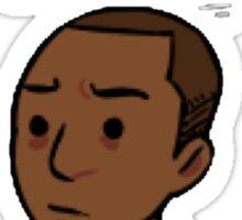 Hamilton - Aaron Burr - Everyone who loves me has died - Black Case/Sticker Sticker