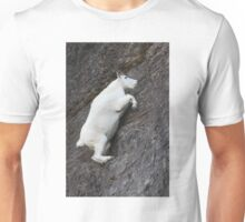 Mountain Goat on the Edge Unisex T-Shirt