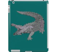 Concrete Crocodile  iPad Case/Skin