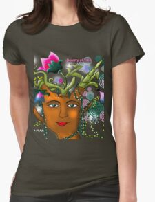 Beauty Of Tree Womens Fitted T-Shirt