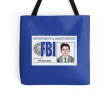 Agent Fox Mulder Tote Bag