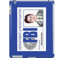 Agent Fox Mulder iPad Case/Skin