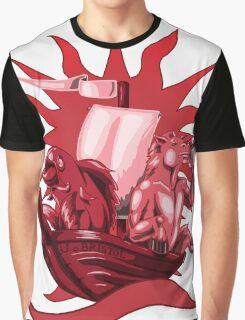 Red Bristol Logo tee Graphic T-Shirt