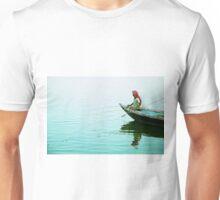 Fishing on the Ganges Unisex T-Shirt