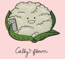 Cally-flower One Piece - Short Sleeve