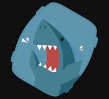 Vegetables Sharks One Piece - Short Sleeve