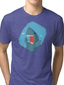 Vegetables Sharks Tri-blend T-Shirt
