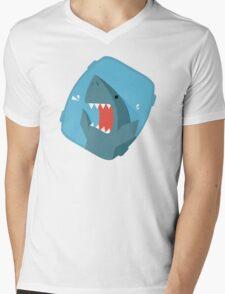 Vegetables Sharks Mens V-Neck T-Shirt