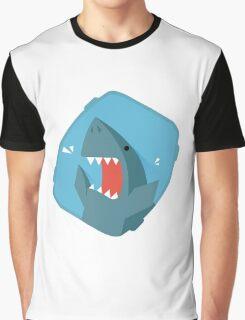 Vegetables Sharks Graphic T-Shirt