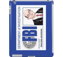 Agent Walter Skinner iPad Case/Skin