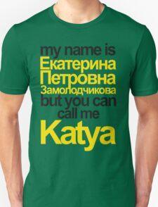 my name is Katya Unisex T-Shirt