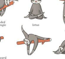 Sloth Yoga - The Definitive Guide Sticker