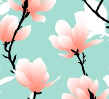 magnolia mint Sticker