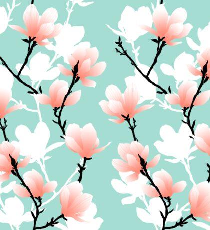 magnolia mint Sticker