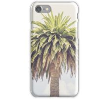 Lone Palm Tree iPhone Case/Skin