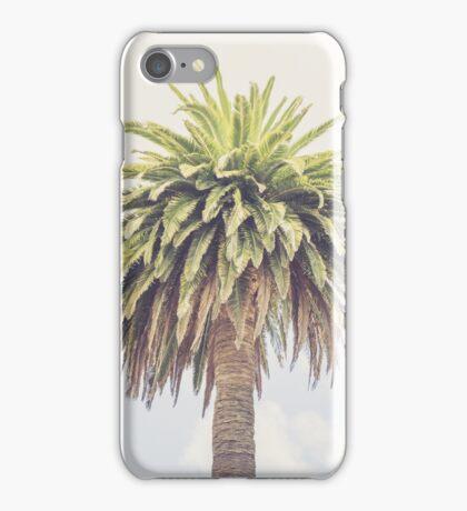 Lone Palm Tree iPhone Case/Skin