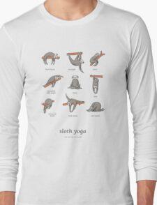 Sloth Yoga - The Definitive Guide Long Sleeve T-Shirt
